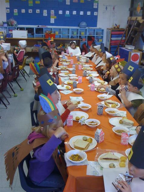 tucks kindergarten class thanksgiving