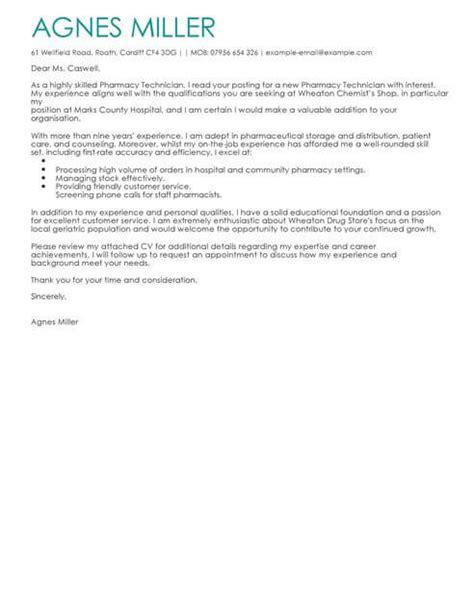 Cover Letter Applying For Pharmacy Technician by Pharmacy Student Cover Letter Pharmacy Intern Cover
