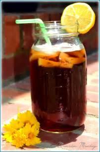 Glass of Sweet Tea with Lemon