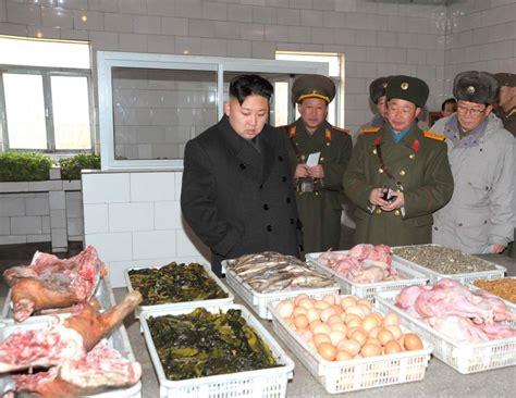 cuisine nord sud corée du nord alors que deux tiers de la population vie