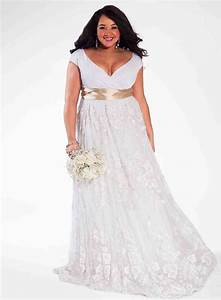 plus size wedding dresses how to choose to flatter your With wedding dress plus size