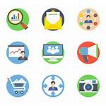 Marketing Digital Icons Flaticon Icon Freepik Vector