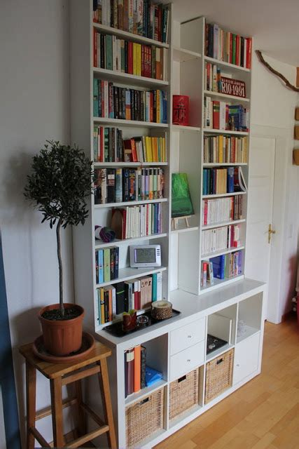 Ikea Besta Bookshelf by Besta Climbs On Expedit Ikea Hackers Ikea Hackers
