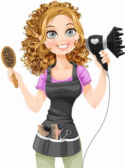 Clipart Transparent Hairdresser Illustration Barber Woman Webstockreview