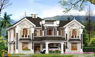 colonial home plans with photos colonial style house in kerala kerala home design and