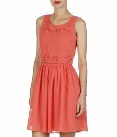 1000 images about robe corail demoiselles on pinterest With robe naf naf rouge