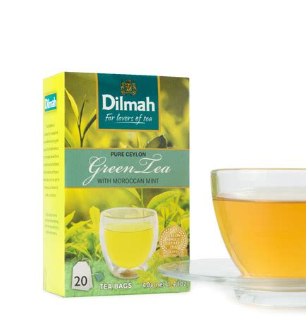moroccan mint green tea dilmah moroccan green tea