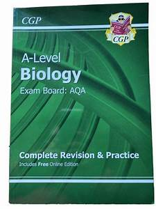 Cgp A Level Biology Aqa Revision Guide For Sale