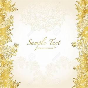 Golden Wedding Background Design Gold Abstract Background ...