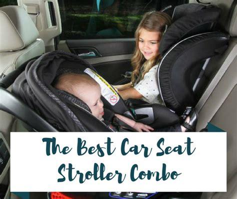 seat stroller combo travel