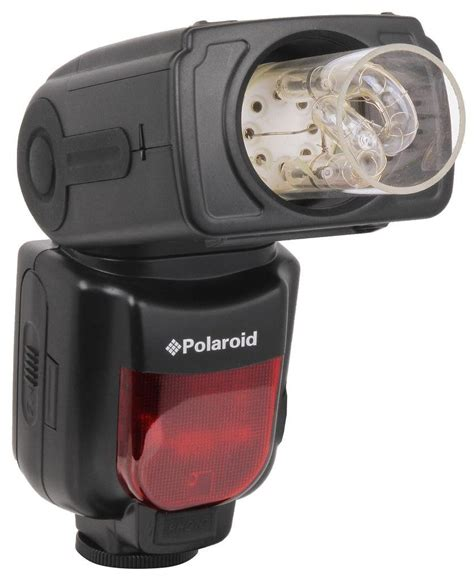 polaroid bare bulb flash appears offering ttl for canon