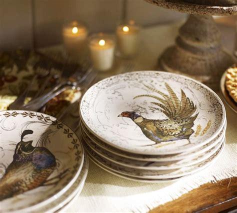 Pottery Barn Thanksgiving Plates by Vignette Design Let S Talk Turkey