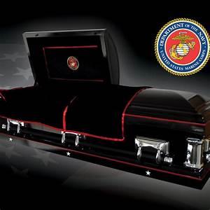 Marine Corps Casket - Veteran Caskets  Marine