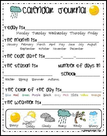 mudpies and make up free calendar journal printables