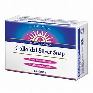 Heritage Products Colloidal Silver Soap 3.5oz ...