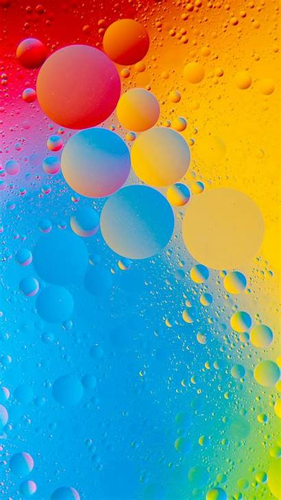 4k Colorful Bubbles Wallpapers Iphone Phone Mobile