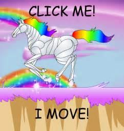 Cute Cartoon Rainbow Unicorns