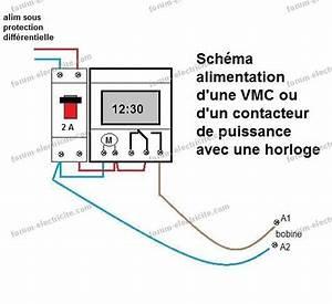 Chauffe Eau 380v : sch ma lectrique branchement horloge programmable pour un ~ Edinachiropracticcenter.com Idées de Décoration