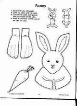 Toilet Paper Roll Craft Bunny Crafts Preschool Animal Kindergarten Toddler Coloring Animals Worksheets Pages sketch template