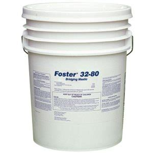 foster   spray brush grade bridging encapsulant