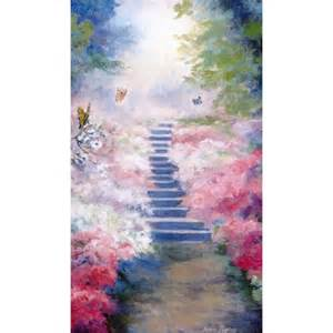 funeral prayer cards heavenly garden personalized prayer card priced per card