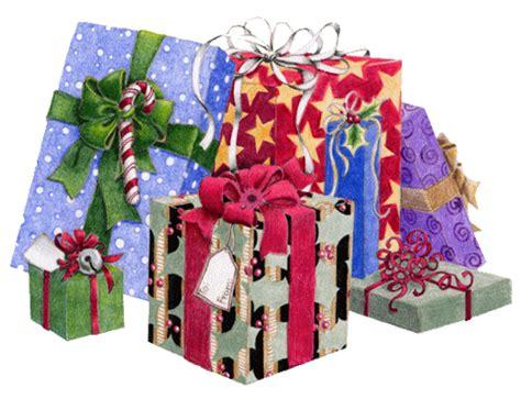 Animated Christmas Presents Gift