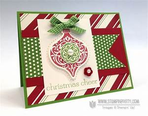 Poking Fun at Stampin Up Ornament Keepsakes