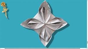 Fleur En Origami Facile : origami facile fleur en serviette youtube ~ Farleysfitness.com Idées de Décoration