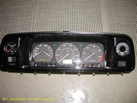 custom vanagon instrument cluster vanagon hacks mods