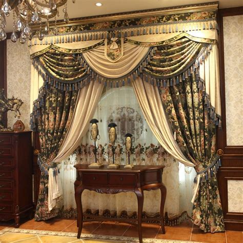 luxurious drapes chenille material window coverings curtains are luxurious