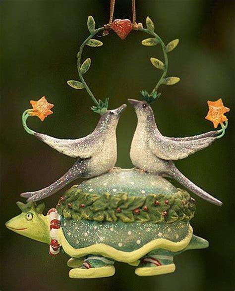 two turtle doves ornament christmas pinterest