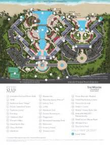 Cancun Westin Lagunamar Ocean Resort Map
