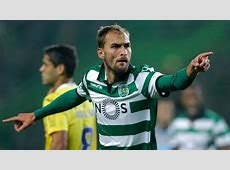 Everton and West Brom want Sporting Lisbon striker Bas Dost