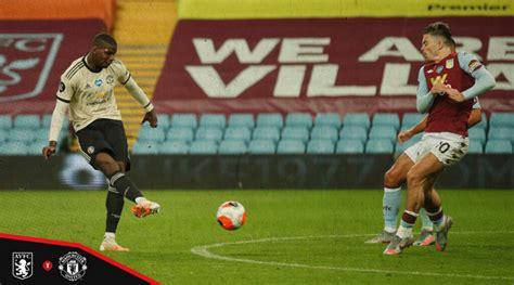 Paul Pogba goal vs Aston Villa: Man Utd star bends a low ...