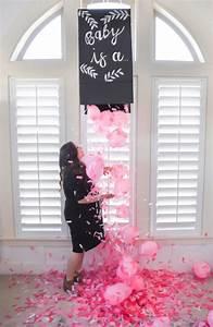 Kara's Party Ideas DIY Gender Reveal Confetti Box Kara's