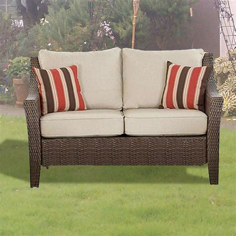 rolston wicker seat replacement cushion set garden winds