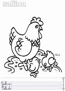 Poule En Espagnol : coloriage poule 2 coloriages animaux de la ferme en espagnol ~ Medecine-chirurgie-esthetiques.com Avis de Voitures