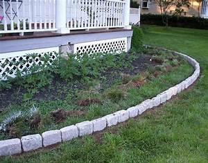 Suburban, Gardeness, Front, Flower, Bed, Border