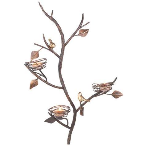 tealight wall sconce decorative wall sconces buy midwest cbk three bird nest