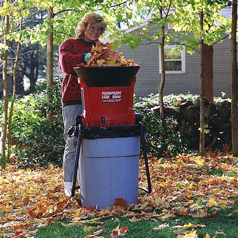 best garden mulcher leaf shredder mulcher