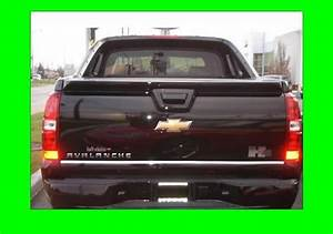 Chevy Avalanche Chrome Tailgate Trim Molding 2007