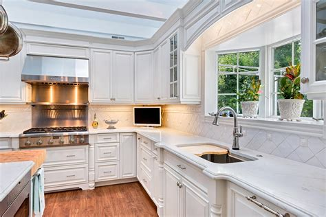 marble kitchen island luxury white kitchen avon nj by design line kitchens
