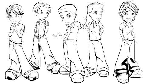disegni di ragazzi da colorare sta disegno di bratz ragazzi da colorare