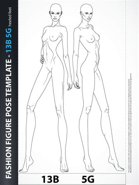 fashion figure templates fashion figure template croquis 13b5g fashion design