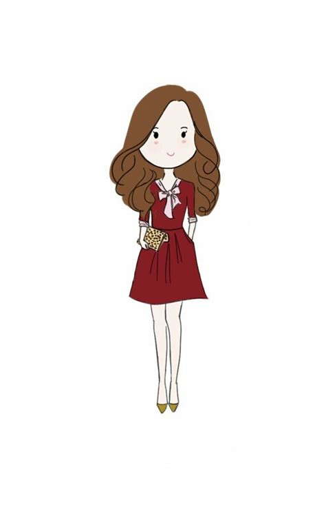 full body cute custom illustration  chibi cartoon