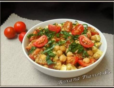 cuisiner pois chiche salade tomates cuisine facile cuisiner rapide pois