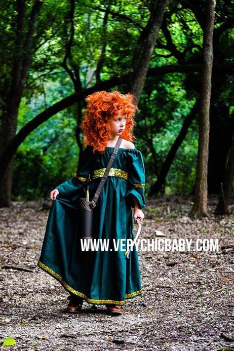 Merida Costume Princess Dress Brave Costume Peasant Dress ...