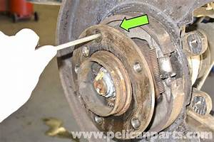 Bmw E46 Parking Brake Shoes Replacement