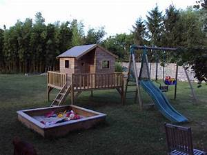 Plan De Cabane En Bois : construction de cabane pour enfant 34 messages page 2 ~ Melissatoandfro.com Idées de Décoration