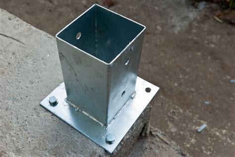 Deck Post Anchors For Concrete